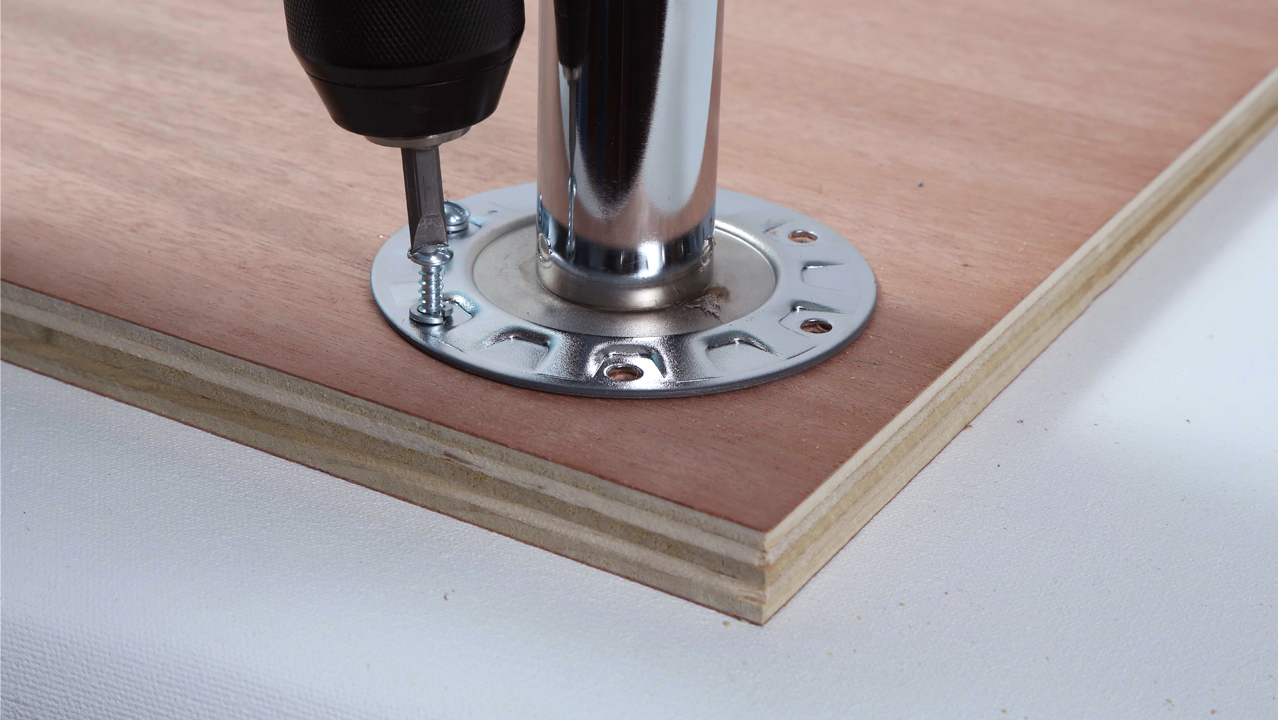 Furniture Legs Screw In how to build a simple table desk -