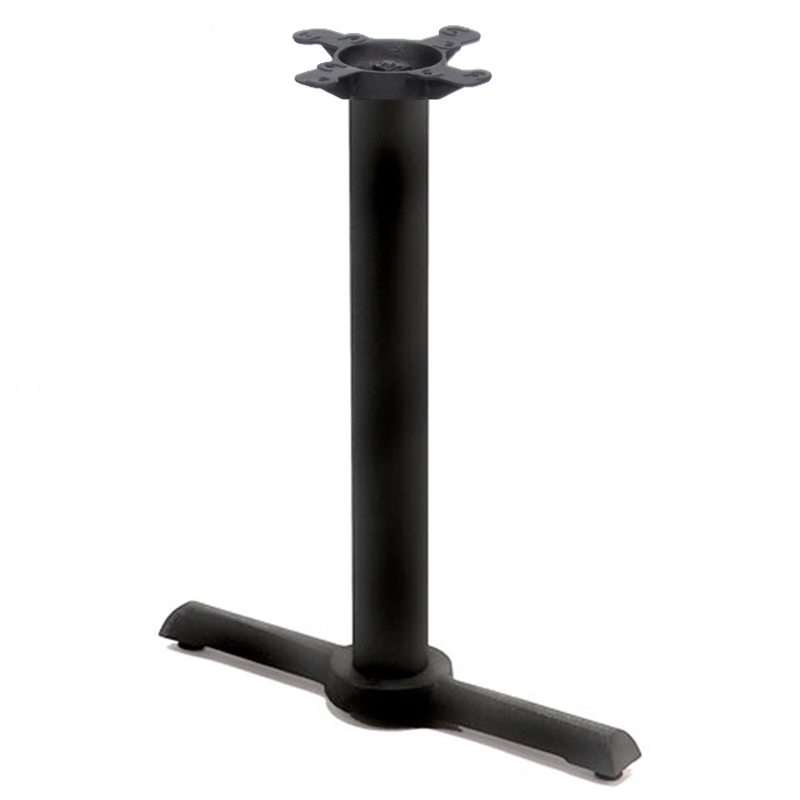 table seating cast iron table base end