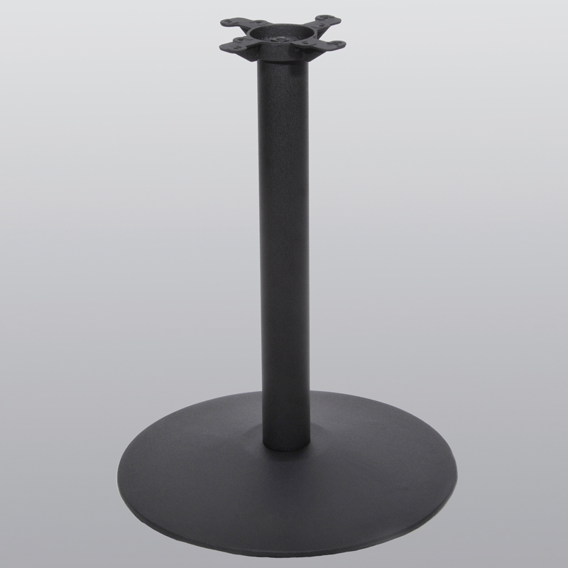 Cast Iron Pedestal Table Base 17 22 Or 30 Round 28 3 4 Height Steel With And Spider Attachment Single Replacementtablelegs
