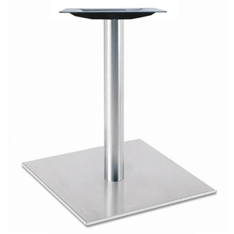 Table seating stainless steel table base square 5030-28-SS