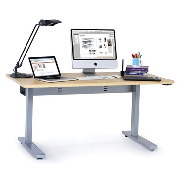 Anthro adjustable height desk