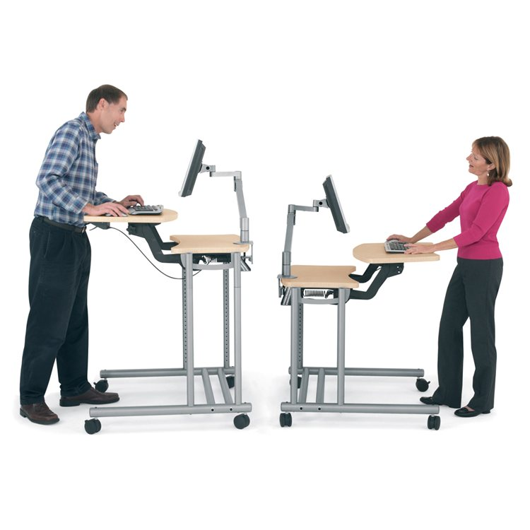 Anthro Height-Adjustable Desk