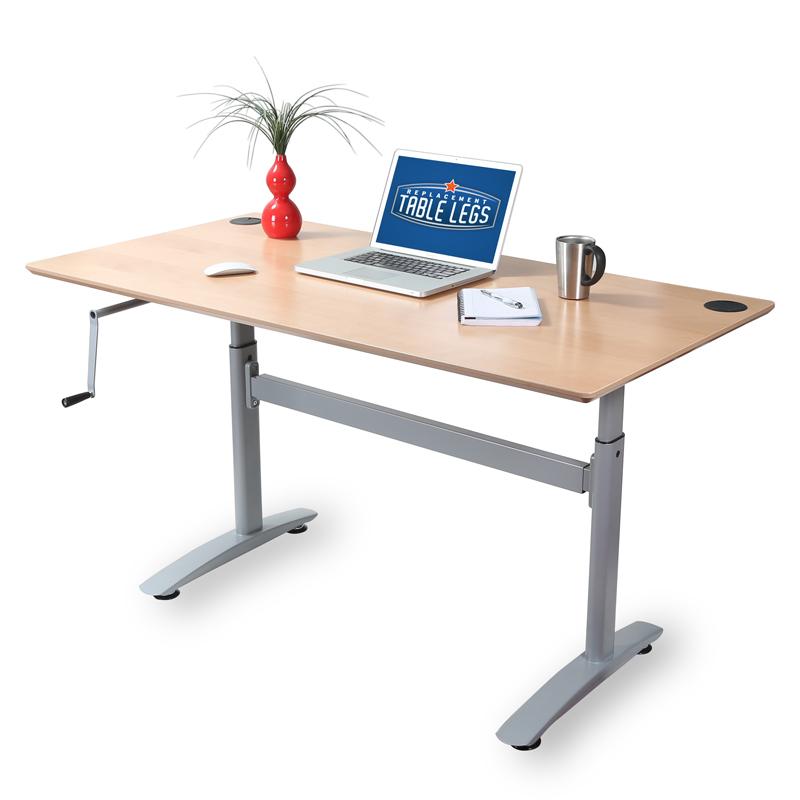 adjustable height deskframe Replacementtablelegs Blog